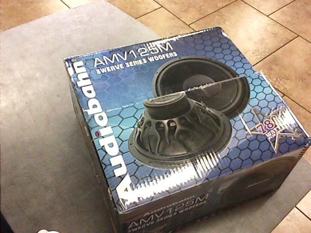 AUDIOBAHN Speakers/Subwoofer AMV125M