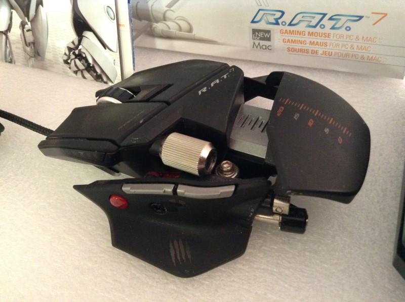 MAD CATZ Video Game Accessory CYBORG R.A.T. 7