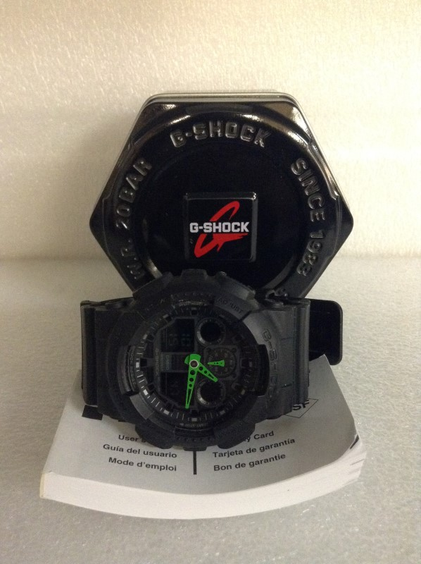 CASIO Gent's Wristwatch G-SHOCK 5081