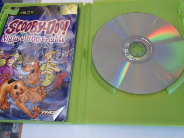 SCOOBY DOO NIGHT OF 100 FRIGHTS ORIGINAL XBOX GAME