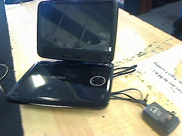 COBY Portable DVD Player TFDVD9109