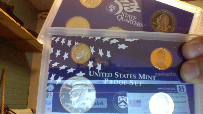 UNITED STATES Mint Set 1999 MINT PROOF SET