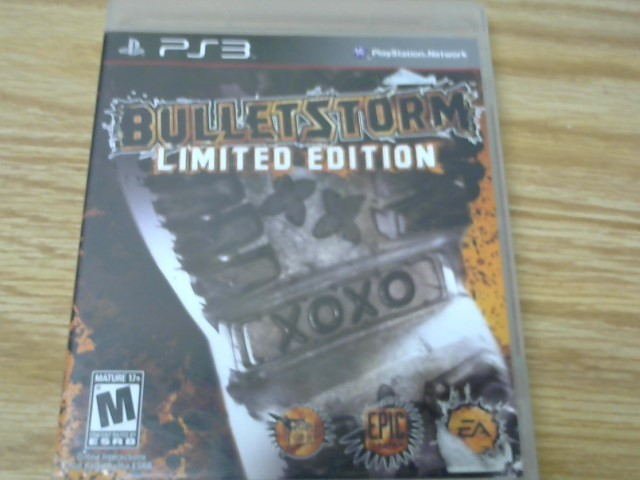 SONY Sony PlayStation 3 Game BULLETSTORM EPIC EDITION