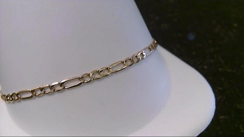 """8"""" Gold Fashion Bracelet 14K Yellow Gold 2.6g"""