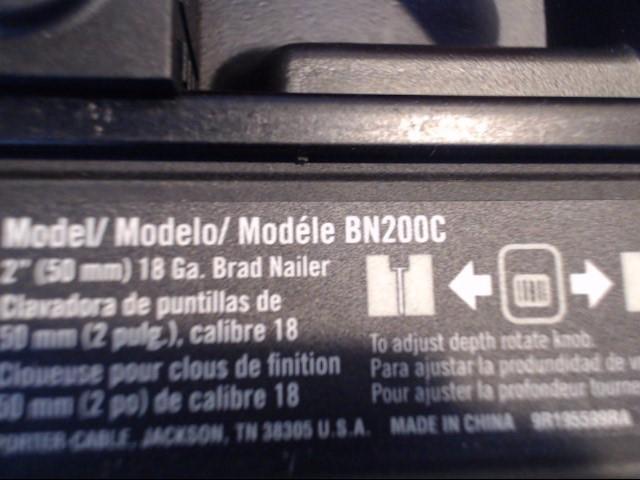 PORTER CABLE Nailer/Stapler BN200C