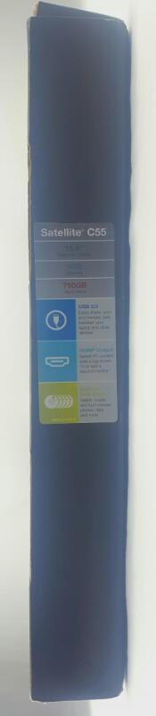 "TOSHIBA C55DT-B5245 TOUCHSCREEN LAPTOP 15"" 1.8GHz, 4GB OF RAM, 750GB HD"