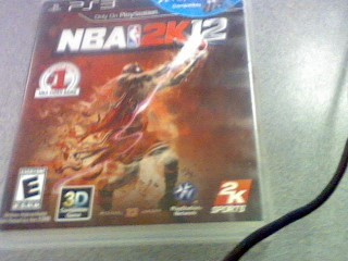 SONY Sony PlayStation 3 Game NBA 2K12 - PS3