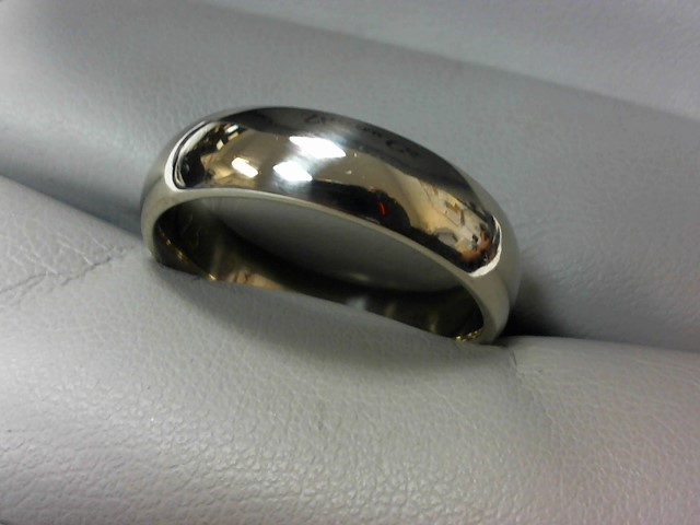 Gent's Gold Ring 14K White Gold 10.3g Size:12