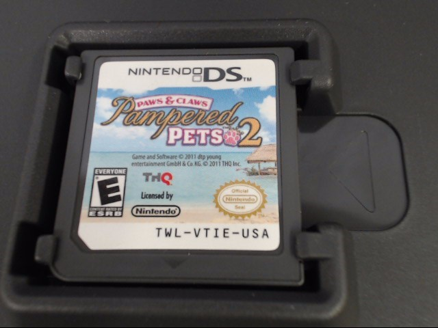 PAMPERED PETS 2 - DS GAME