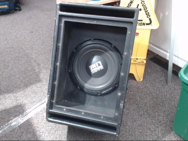 "ALPINE ELECTRONICS Car Speakers/Speaker System BASSLINE 12"" SWA-12S4"