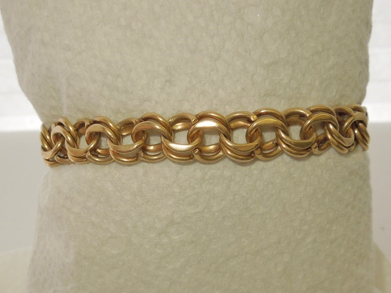 Gold Bracelet 14K Yellow Gold 22.2g