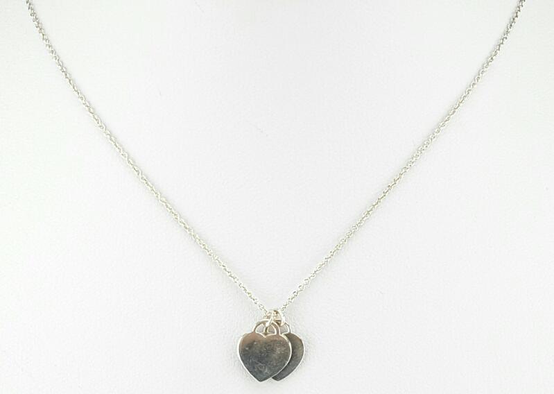 "Tiffany & Co. 16"" Silver Chain 925 Silver 2.7g"