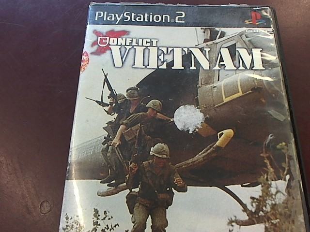 SONY PS2 CONFLICT VIETNAM