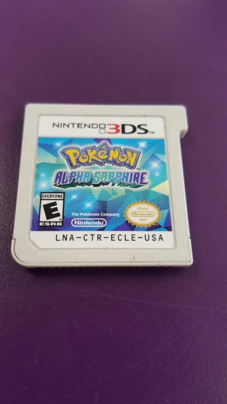 NINTENDO 3DS GAME POKEMON ALPHA SAPHIRE *CARTRIDGE ONLY*