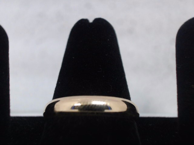 Gent's Gold Wedding Band 10K Yellow Gold 3.8g
