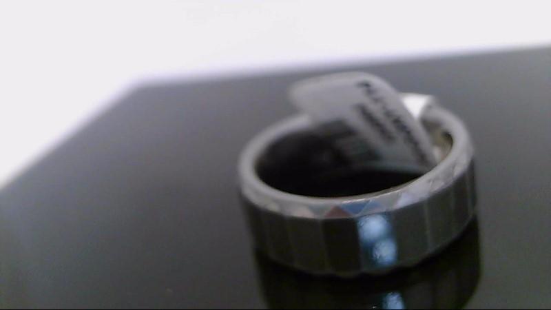 Gent's Ring Silver Tungsten 12.8g