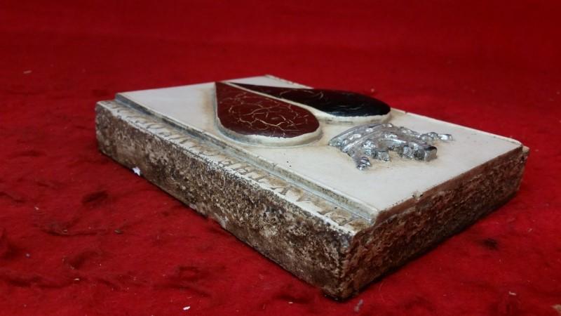 Sid Dickens T-66 ~ Heart & Crown | Handmade Memory Block