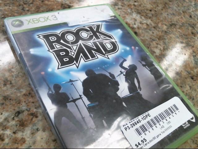 MICROSOFT Microsoft XBOX 360 Game ROCK BAND