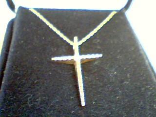 Diamond Necklace .02 CT. 10K Yellow Gold 1.7g