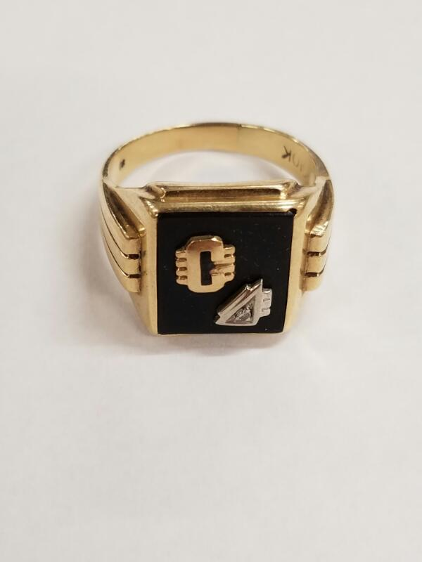 Gent's Gold Ring 10K Yellow Gold 6.4g