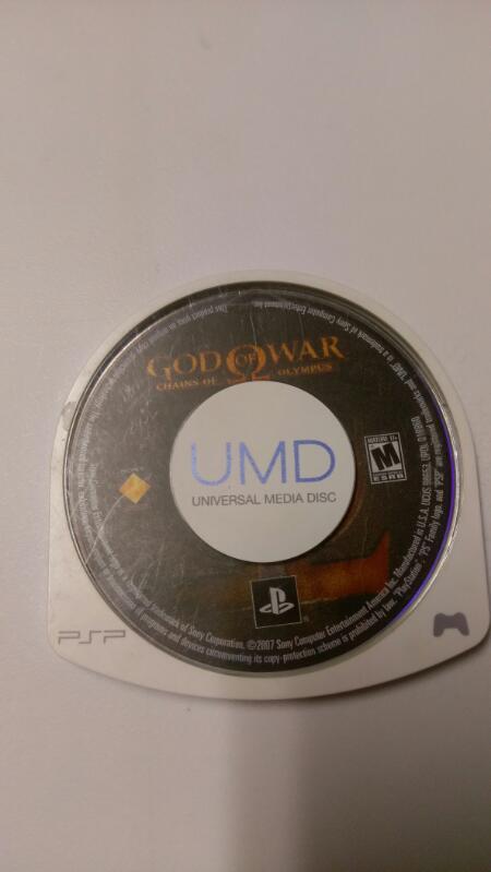 SONY PSP GOD OF WAR VIDEO GAME