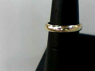 Lady's Gold Wedding Band 14K Yellow Gold 2.3dwt Size:6