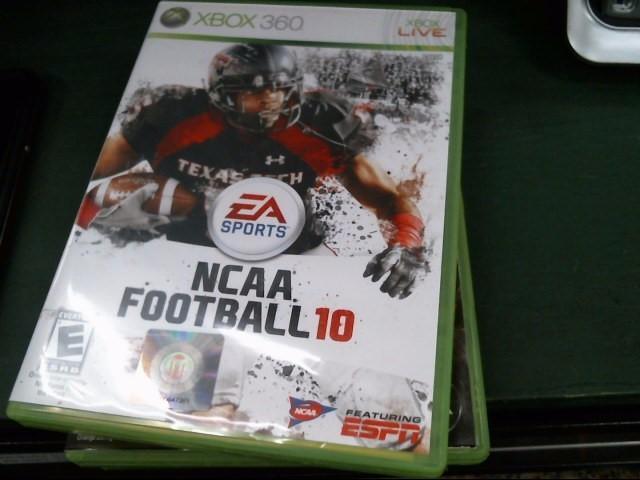 MICROSOFT Microsoft XBOX 360 Game NCAA FOOTBALL 10