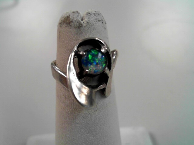 Lady's Silver Ring 925 Silver 4.3g Size:5.1