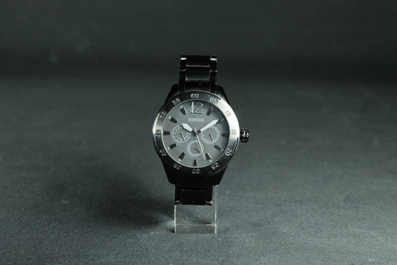 Fossil Men's Black Wristwatch BQ1713