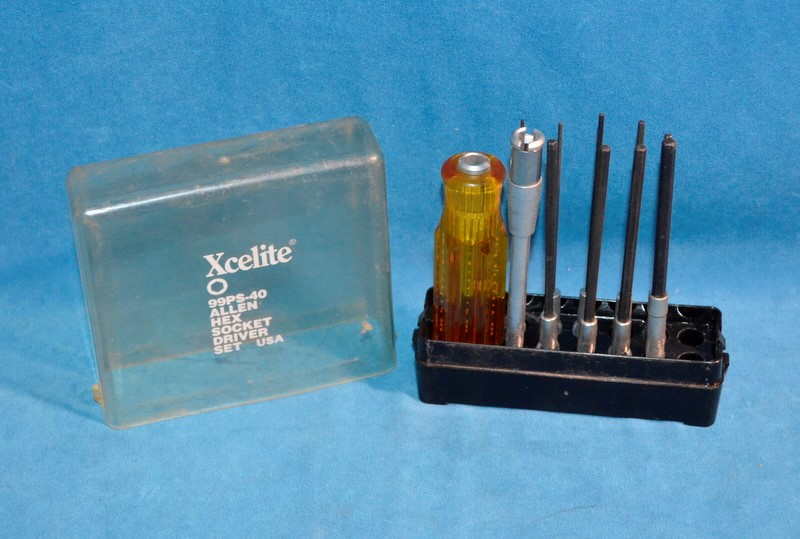 XCELITE 99PS-40 ALLEN HEX SOCKET DRIVER SET 11PC