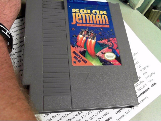 NINTENDO Nintendo NES Game SOLAR JETMAN