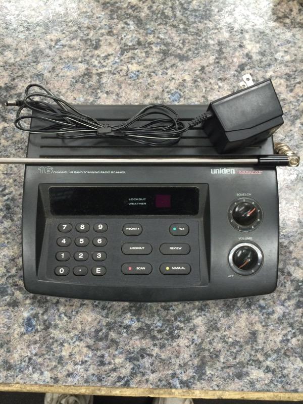 UNIDEN Police Scanner BC144XL