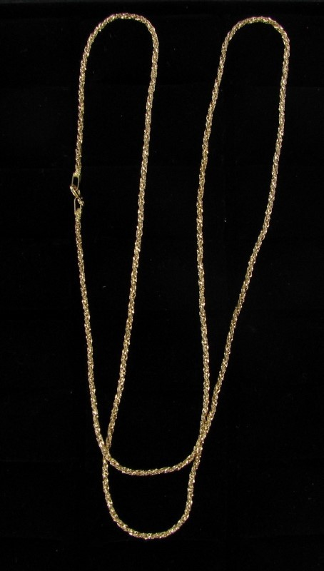 Gold Chain 18K Yellow Gold 4.8dwt