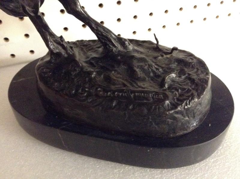 FREDERIC REMINGTON Sculpture/Carving RATTLESNAKE