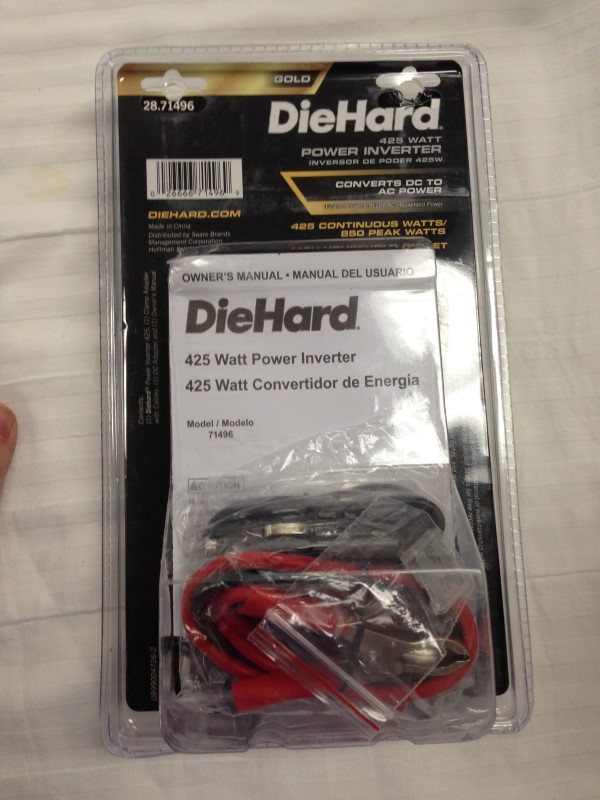 DIE HARD 425 WATT POWER INVERTER
