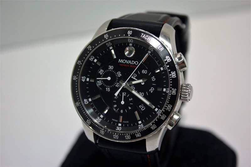 MOVADO Gent's Wristwatch SERIES 800 CHRONOGRAPH WATCH
