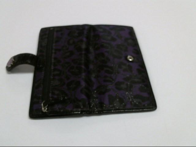 COACH Wallet PURPLE CHEETAH WALLET