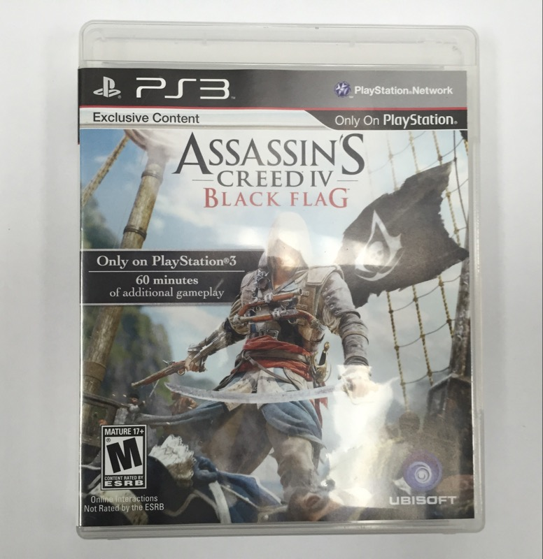 SONY ASSASSINS CREED IV BLACK FLAG PS3