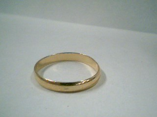 Lady's Gold Ring 10K Yellow Gold 1g Size:7