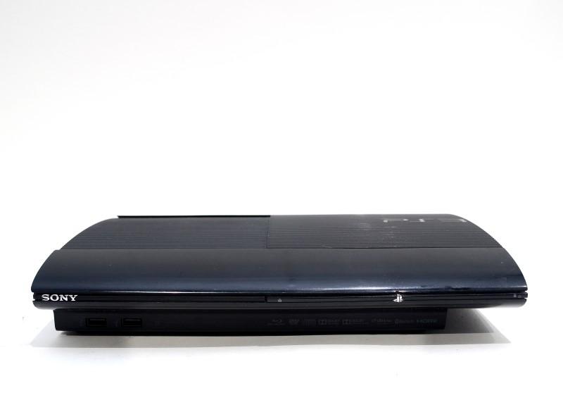Sony Playstation 3 PS3 Super Slim 250GB Black Console Bundle *