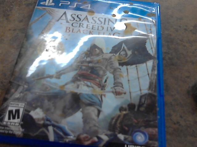 PS4 4 ASSASSIN CREED IV BLACK FLAG