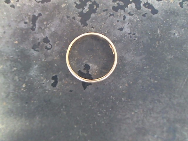 Child's Gold Ring 10K Yellow Gold 0.5dwt Size:2