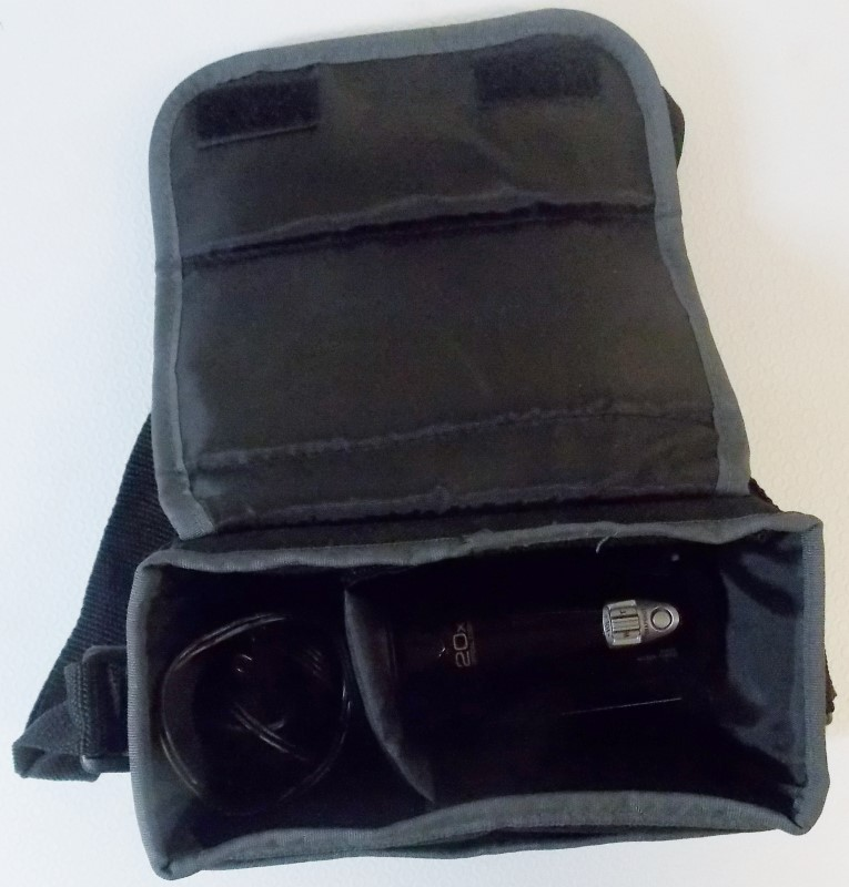 JVC HD EVERIO CAMCORDER WITH 20X OPTICAL ZOOM, GZ-HM320BU, INCLUDES SOFT CASE