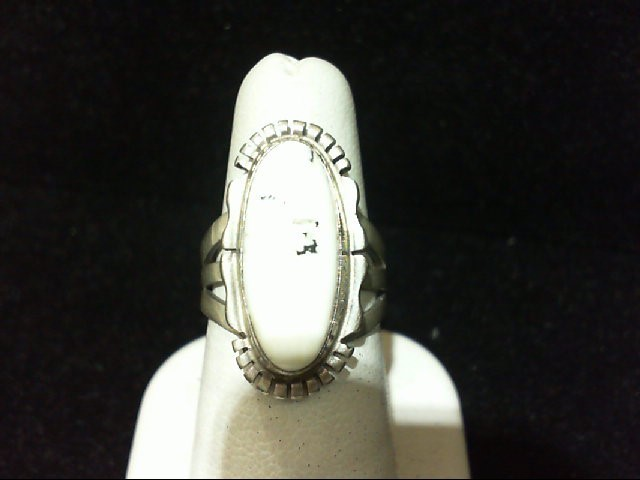 Lady's Silver Ring 925 Silver 8.1g