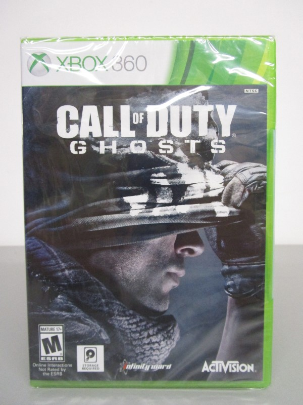 MICROSOFT XBOX 360 CALL OF DUTY LOT, FOUR (4) GAMES