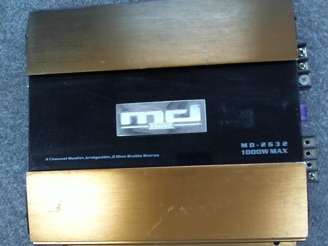 MD SOUND Car Amplifier MD-2632
