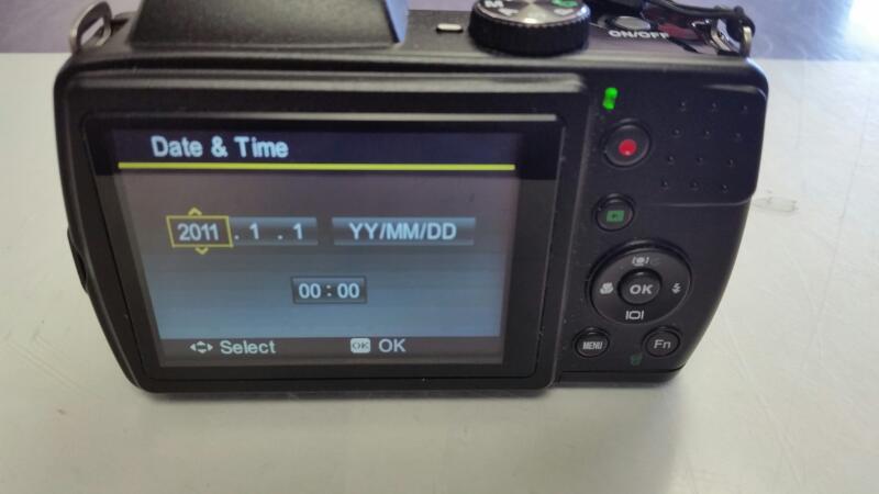 POLAROID DIGITAL CAMERA IS2132 16MP 21X OPTICAL ZOOM LENS BLACK