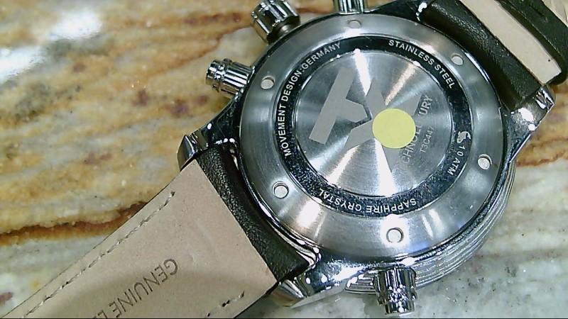 Timex Techno Luxury T3C447 World Time Watch Orange Black