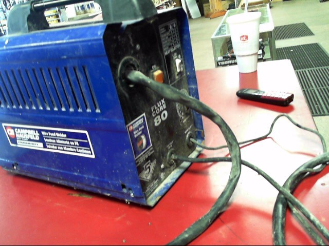 CAMPBELL HAUSFELD Wire Feed Welder FLUX CORE 80