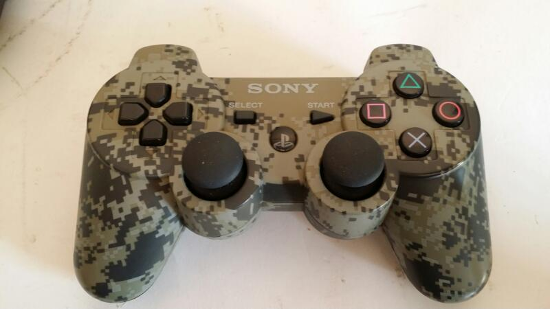 Sony PS3 Playstation 3 Slim 320GB Console - Camo Controller Bundle